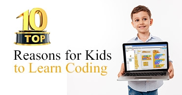 Top 10 Reasons for Kids to Learn Coding